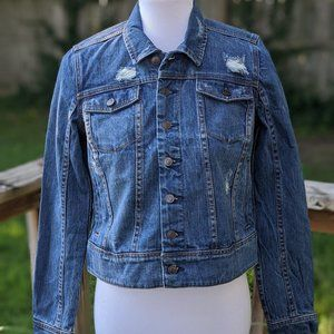 A Pea in the Pod Maternity Denim Jacket NWOT